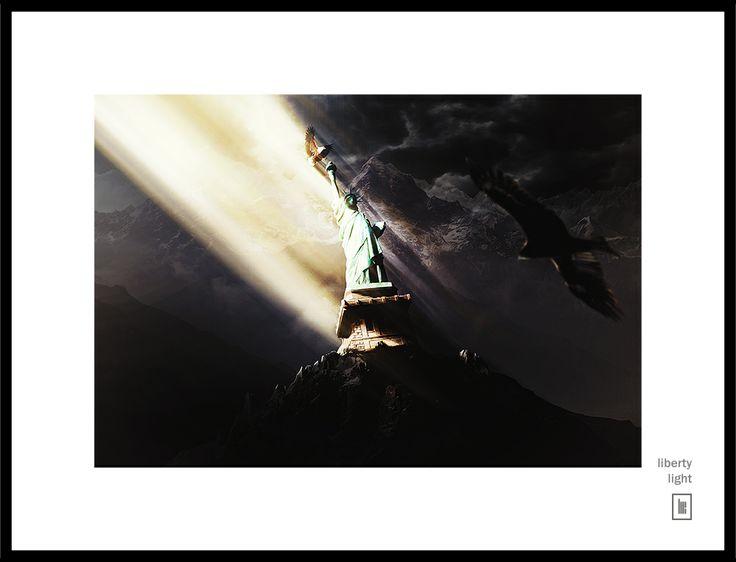 Liberty Light - Matte Painting