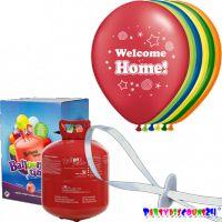 "Helium-Set ""Luftballons - Welcome Home"""