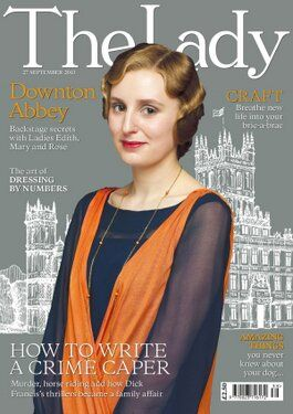 Downton Abbey Season 4: Lady Edith of Downton Abbey in The Lady Magazine