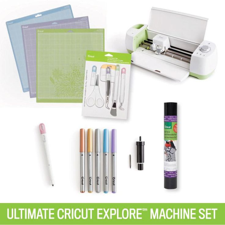 My honey just surprised me with this...Just because!!!! HE is just plain awesome.  Ultimate Cricut Explore Machine Set