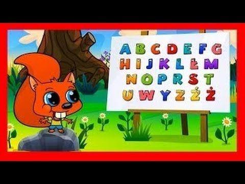 Alfabet po polsku dla dzieci - abecadło BZYK.tv