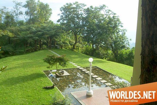 Впечатляющие садовые пруды фото 11