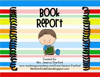 Sandwich Book Report Project  templates  printable worksheets  and     Kastor   Pollux