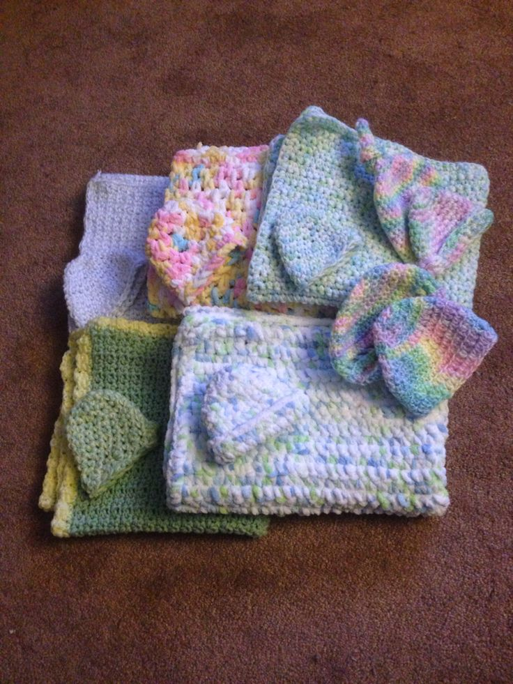 Nicu Baby Blankets And Hats Things I Have Made