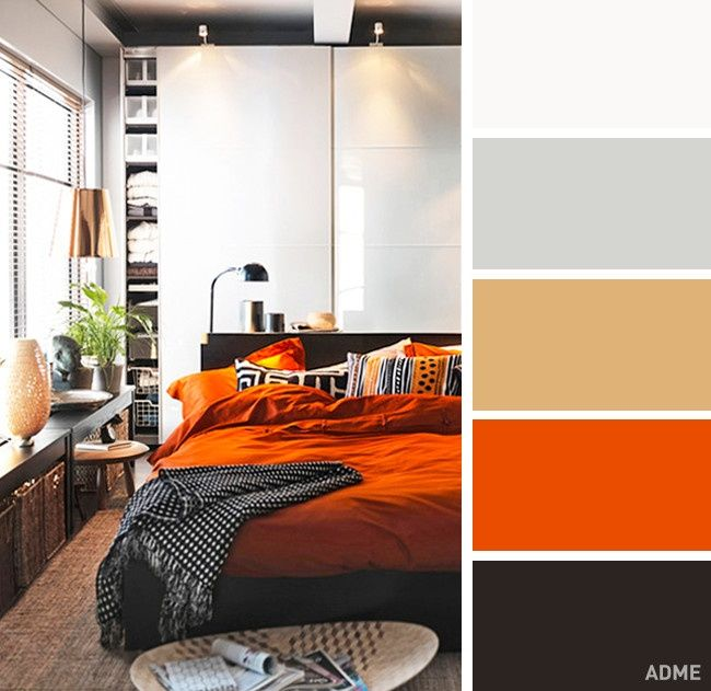 20 perfect color sebination in bedroom interior - @ciemoddustse197