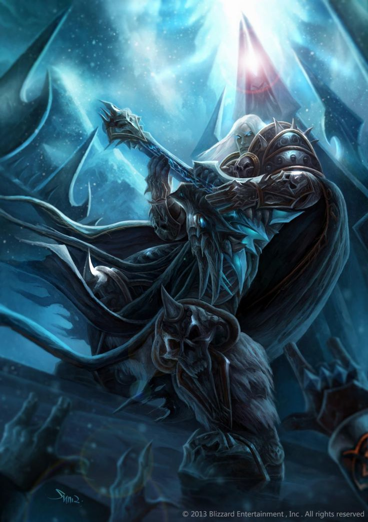 17 best images about lich king arthas menethil on for Lich king tattoo