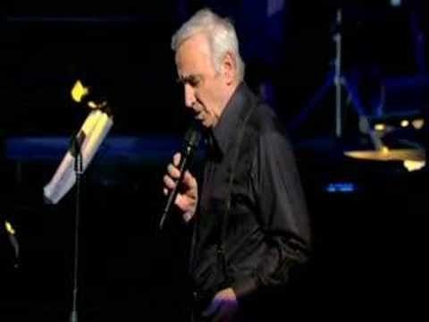 Il Faut Savoir - Charles Aznavour - YouTube