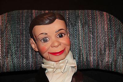 vintage 1968 Juro Novelty Company Charlie McCarthy ventriloquist dummy/doll Rare