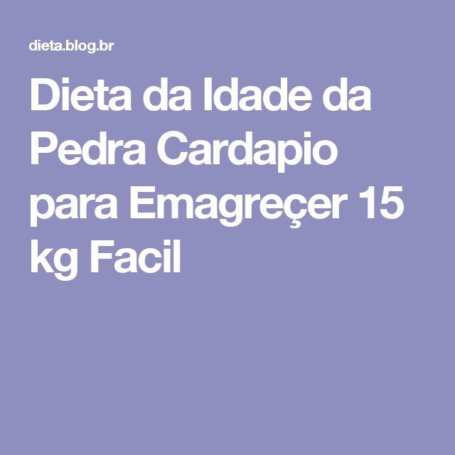 Dieta da Idade da Pedra Cardapio para Emagreçer 15 kg Facil
