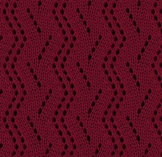 Zig Zag Stitch Loom Knitting : Best eyelet lace knitting stitches images on