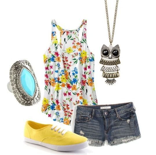 Love all of this except not the Owl necklace! I like owls, but thats just not for me!