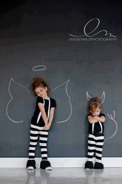 adorable idea for a kids picture