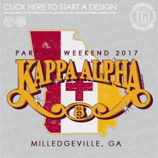 Kappa Alpha Order   KA   Parent's Weekend   Vintage   TGI Greek   Greek Apparel   Custom Apparel   Fraternity Tee Shirts   Fraternity T-shirts   Custom T-Shirts