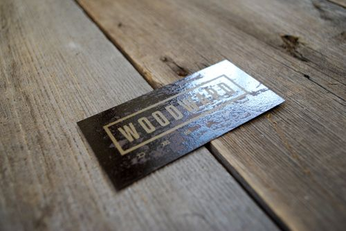 Woodward Design - Business Card Design Raised Spot UV Printing www.kristingibson.ca