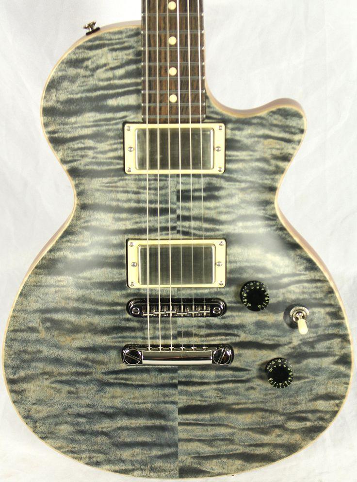 Tom Anderson USA Bobcat Flame Top Electric Guitar Satin Atlantic Storm *Make an offer*
