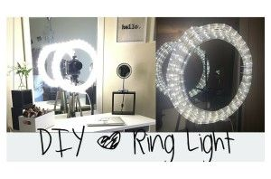 A good light is an important facet of makeup artistry, however buying one can be expensive. Check out this easy and affordable DIY ring light.