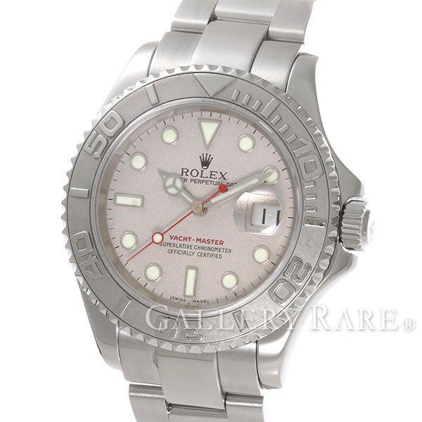 ロレックス ヨットマスター ロレジウム SS×プラチナ 16622 K番 ROLEX 腕時計