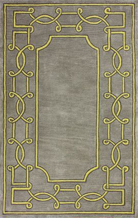 Rugs Usa Abrash Bordered Gr10 Blue Rug Modern Home Decor
