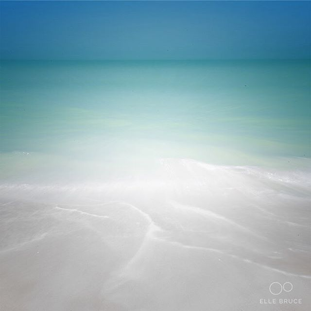 FOUND BEAUTY TODAY... in the pastel hues of the Gulf of Mexico along the Florida coast. Soft leading lines left on the sand where waves ebb barley hint at a deceptively powerful undertow. Have you ever found yourself unexpectedly drawn in by beauty?  #foundbeautytoday #foundbeauty #gulfshores #florida #beach #landscape #impressionism #ICM #waterscape #waves