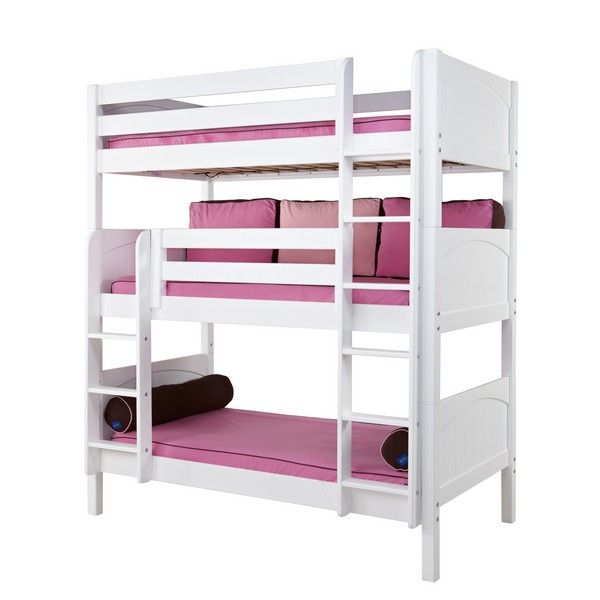Your Riley Panel Medium Triple Bunk Bed Here The Is A Fun And Functional For Child