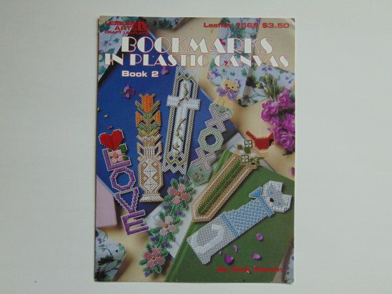 Bookmarks in Plastic Canvas Book 2 Leisure by TrinasCraftPatterns