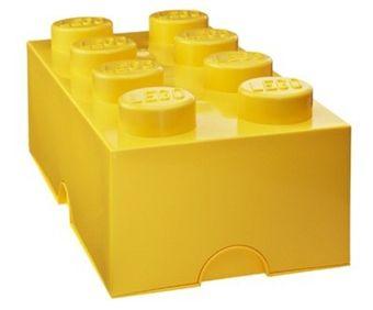 Lego Förvaring 8 Gul | Inredning Förvaring | Jollyroom