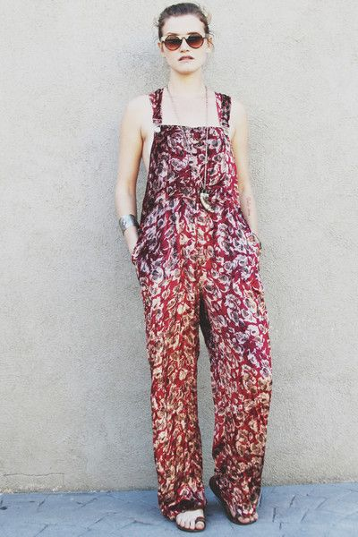 Printed Overalls