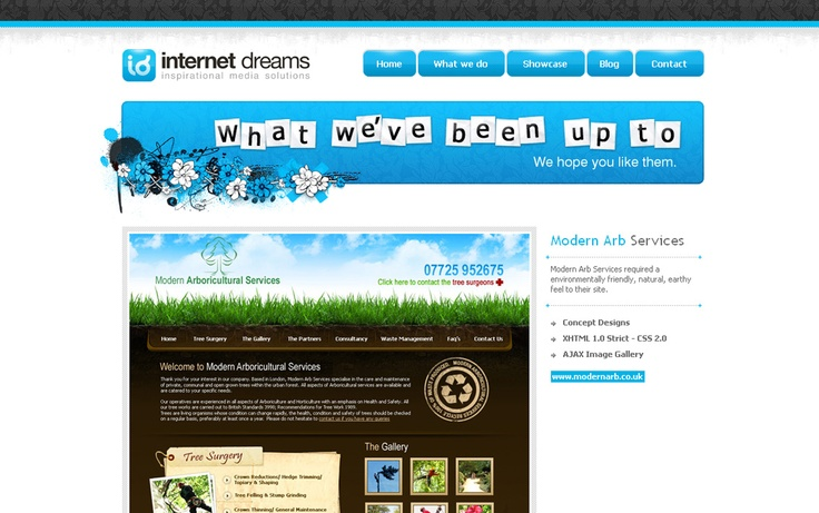 Internet Dreams, 2nd January 2008