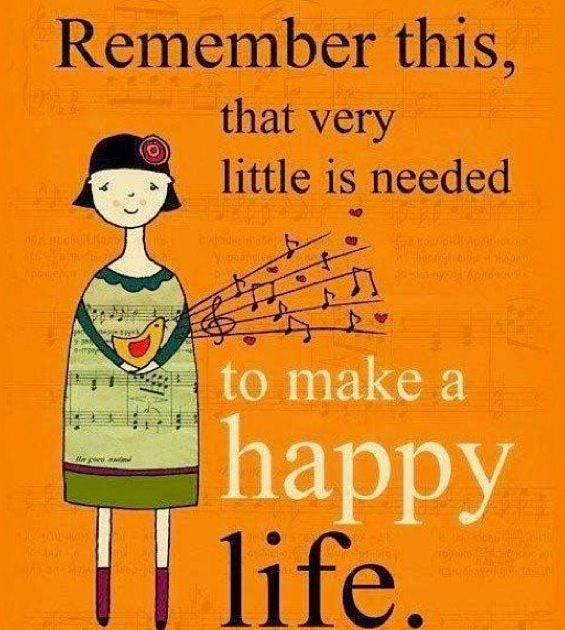 Living simply :)