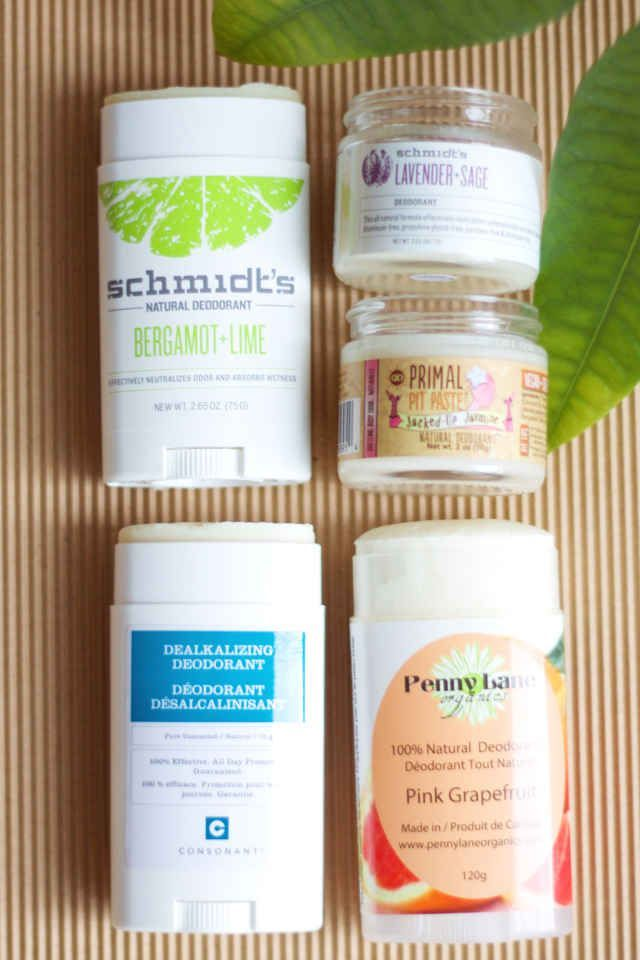 Beat B.O. safely with these four natural deodorant faves.