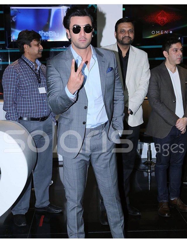 At the launch of HP and PVR Cinemas new PVR Lounge in Noida
