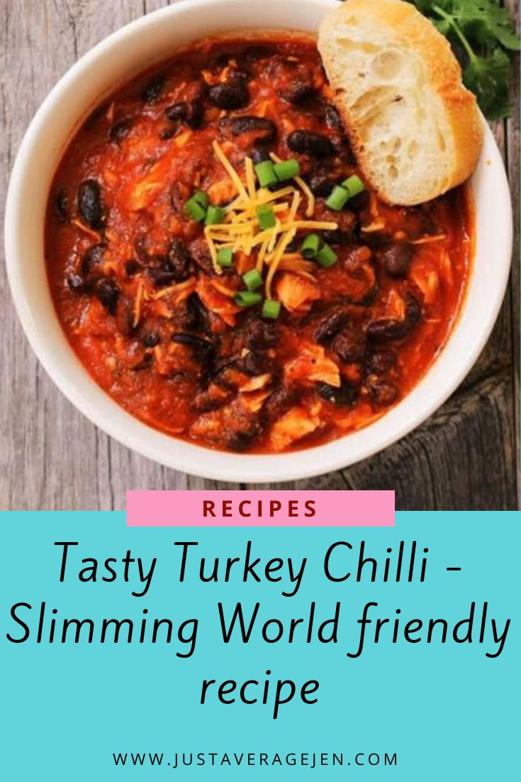 Tasty Slimming World turkey mince chilli recipe for a ...