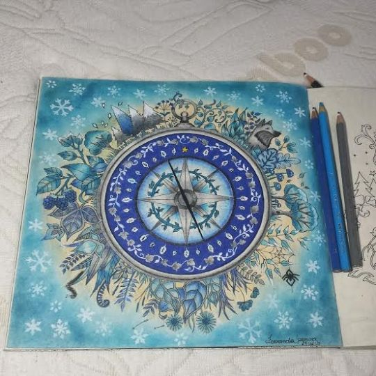 Johanna Basford   Picture by Fernanda   Colouring Gallery