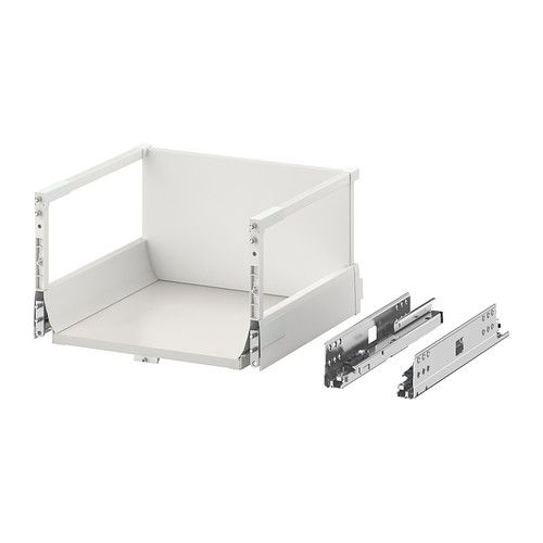 MAXIMERA Drawer, high w/o Front door - white - IKEA Dimension:- W 364 mm; Frame, W 400 mm D 337 mm; Frame, D 370mm H 212 mm RM 165