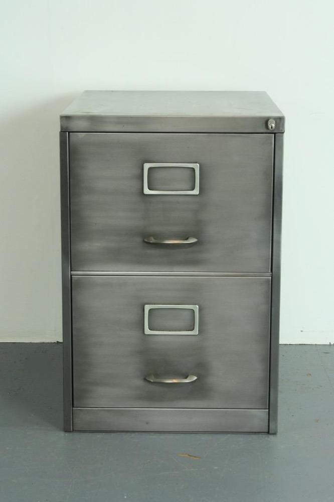 Vintage Industrial Stripped Steel 2 Drawer Filing Cabinet 2018 Filing Cabinet Drawer Filing Cabinet Vintage Industrial