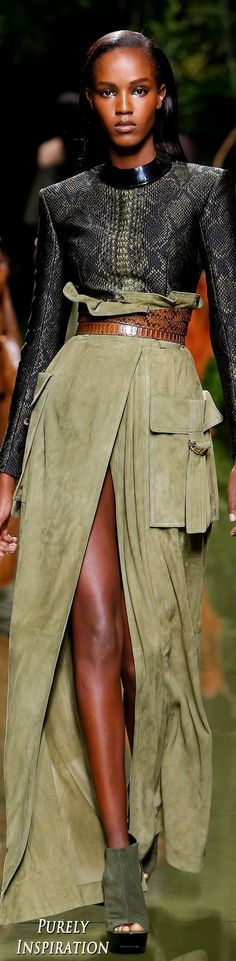 Balmain SS2017 Womens Fashion RTW | Purely Inspiration - Women's Belts - http://amzn.to/2hOqA0h