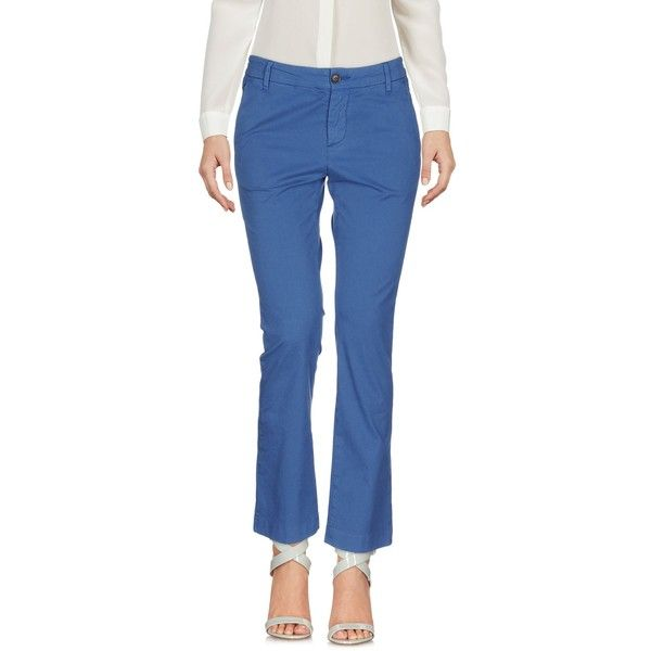 True Nyc. Casual Pants (9.705 RUB) ❤ liked on Polyvore featuring pants, blue, chino pants, mid rise pants, stretchy pants, chino trousers and cotton trousers