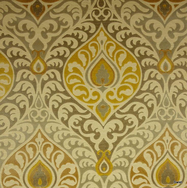 Barok vintage behang