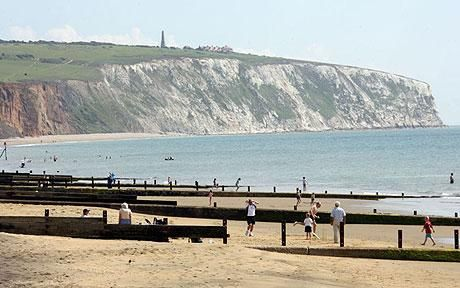Sandown Beach - Isle of Wight, used to live here and miss it very much