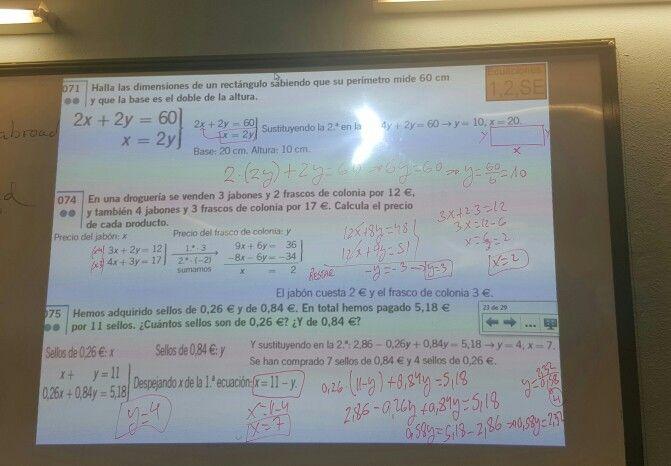 Día 10: Hoy en clase de matemáticas continuamos realizando problemas de sistema de ecuaciones. Después, para repasar para el examen que tendremos en la próxima clase, hicimos unas actividades de truncamiento y redondeo y también de los errores absolutos y relativos y sus fórmulas, lo que nos vino muy bien para recordar este tipo de ejercicio.