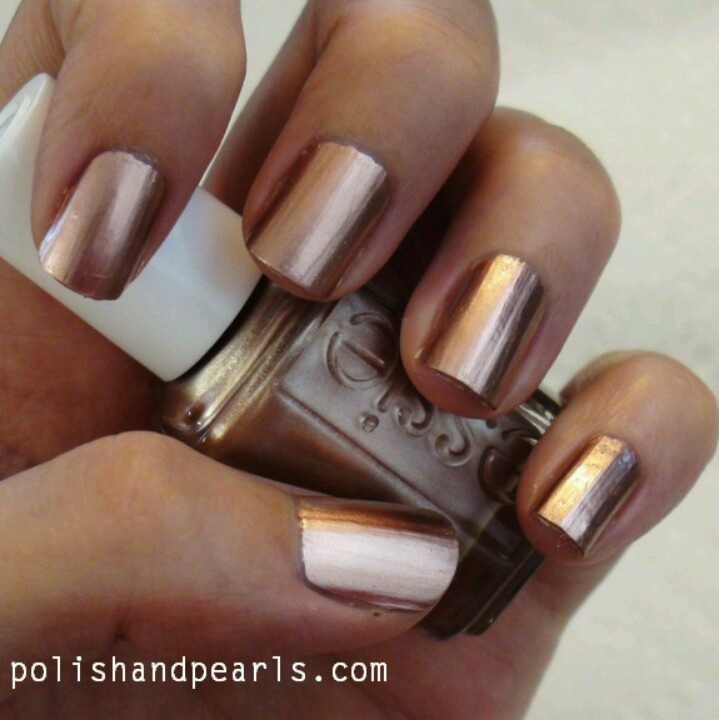 Essie Fall Go To Hair Beauty 3 Pinterest Makeup Rose Gold Nail Polish And Mani Pedi