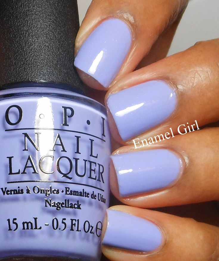 I get this color on my nails ALL the time! I think I am a little too obsessed with Periwinkle lol