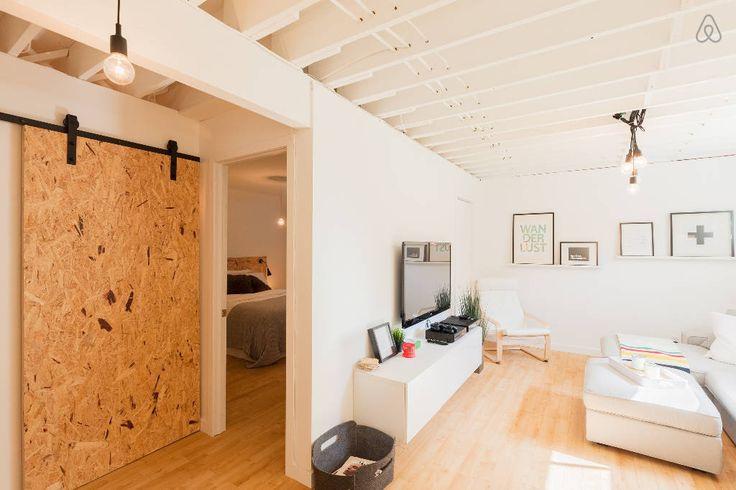 Regardez ce logement incroyable sur Airbnb : Loft design à louer près de Québec à Levis