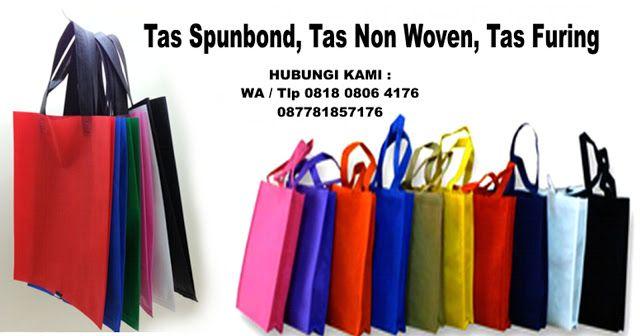 Tas Promosi, Spunbond, Tas Belanja dan promosi, Non Woven Bag, Spun Bond Jika berminat bisa menghubungi Kami di 0818 0806 4176 / 0877 8185 7176