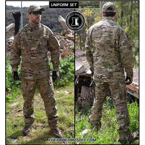 Divisa Militare Multicam The Tower Company ®