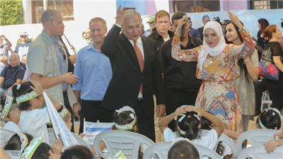 """Much to the delight of parents, the new school year has begun in Israel, and Prime Minister Benjamin Netanyahu had two related messages for students: study the Bible and seek peaceful coexistence.  Earlier this week, Netanyahu told his cabinet that he wants to """"carry out an education revolution based on two things: excellence and Zionism.""""  Central to achieve that is the study of the Bible, the prime minister insisted.  """"First of all, the study of the Bible,"""" Netanyahu told his…"""