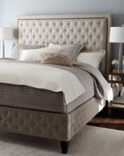 beautiful tufted brea bed from horchow.com $2700: Beds, Dream, Headboards, Master Bedroom, Bedrooms, Tufted Bed, Bedroom Ideas