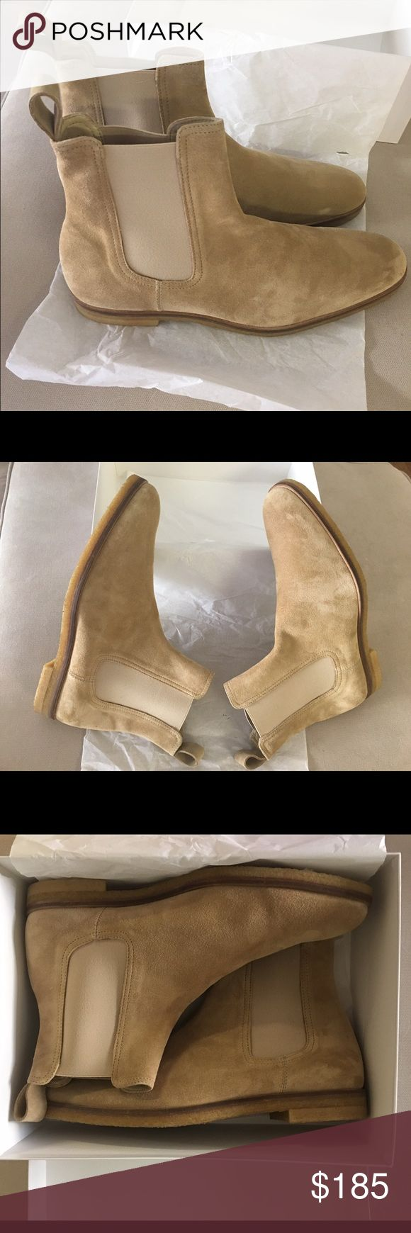 MARC WENN Suede Chelsea Boots Brand New Tan Suede Chelsea Boots Marc Wenn Shoes Boots