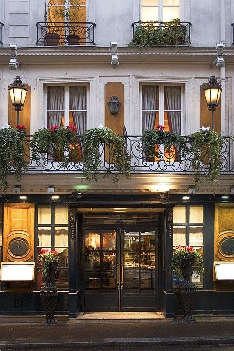 'Le Procope', the oldest Paris restaurant, founded 1686. It is located 13, rue de l'Ancienne Comédie, Saint-Germain-des-Prés, Paris VI.