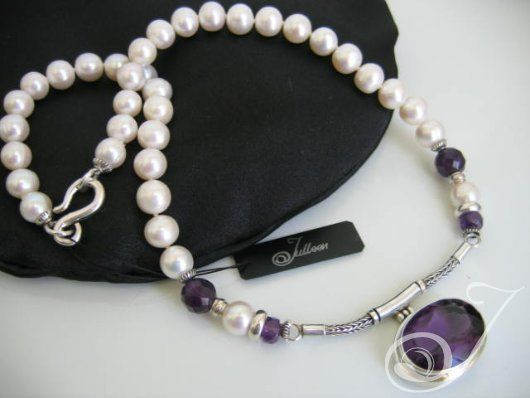 Janine Necklace – Pearl Jewellery